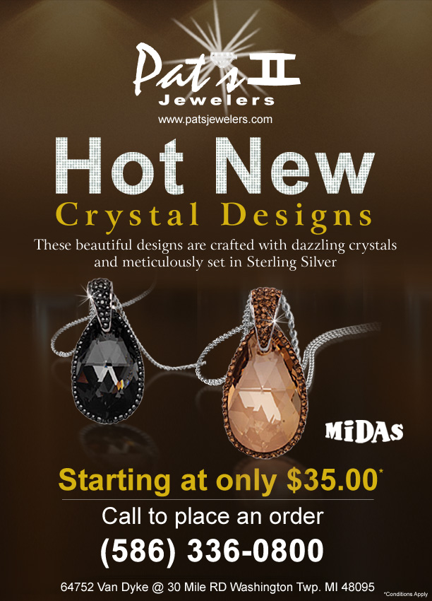 Hot New crystal designs by Midas